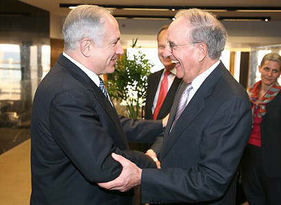 Netanyahu and Mitchell