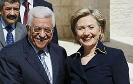 Abbas and Clinton