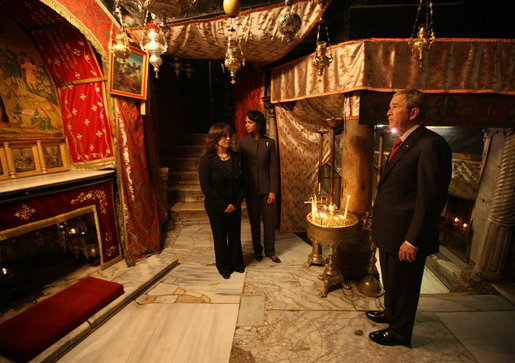 Visit to  Church of the Nativity