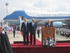 Bush, Olmert and Peres at Bush welcoming 