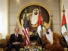 Bush sits with United Arab Emirates President -01-14-08