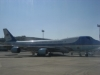 Air Force One at Bahrian Airport - 01-13-08