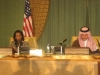 Rice and Saudi Foreign Minister in Riyadh - 01-15-08